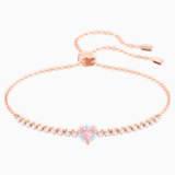 One Браслет, Многоцветный Кристалл, Покрытие оттенка розового золота - Swarovski, 5446299