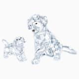 Set Famiglia di Labrador (online) - Swarovski, 5448238