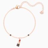 Mine Lipstick Bracelet, Multi-colored, Rose-gold tone plated - Swarovski, 5448423
