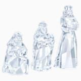 Szopka bożonarodzeniowa — Trzej Królowie, zestaw dostępny online - Swarovski, 5448429