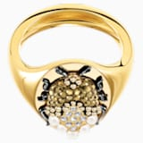 Magnetic Signet Ring, Multi-coloured, Mixed metal finish - Swarovski, 5448773