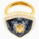 Magnetic Cocktail Ring, Multi-coloured, Gold-tone plated - Swarovski, 5448774