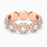 Angelic gyűrű, fehér, rozéarany árnyalatú bevonattal - Swarovski, 5448854