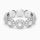 Angelic 戒指, 白色, 镀铑 - Swarovski, 5448864