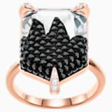 Make Cocktail Ring, Multi-colored, Rose-gold tone plated - Swarovski, 5448895