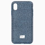 Pouzdro na chytrý telefon High s ochranným okrajem, iPhone® XS Max, modré - Swarovski, 5449136