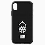 Mazy ring 智能手機防震保護套殼, iPhone® XS Max, 黑色 - Swarovski, 5449140