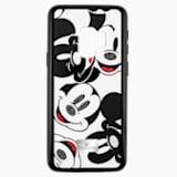 Funda para smartphone con protección integrada Mickey Face, Galaxy S®9, negro - Swarovski, 5449144