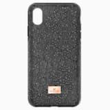 High Чехол для смартфона с противоударной защитой, iPhone® XR, Черный Кристалл - Swarovski, 5449146