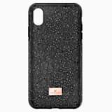 Funda para smartphone con protección rígida High, iPhone® XS Max, negro - Swarovski, 5449152
