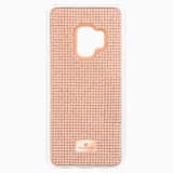 Hero Smartphone Case with Bumper, Galaxy S®9, Pink - Swarovski, 5449153