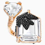Manor Cocktail Ring, Multi-colored, Rose-gold tone plated - Swarovski, 5449473