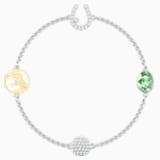 Swarovski Remix Collection Wish Strand, blanc, Finition mix de métal - Swarovski, 5451038