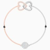 Swarovski Remix Collection Forever Strand, 화이트, 믹스메탈 피니시 - Swarovski, 5451098
