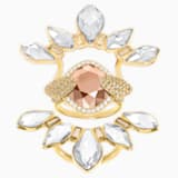 Odysseia Motif Ring, Multi-coloured, Gold-tone plated - Swarovski, 5452526