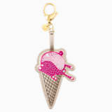 No Regrets Ice Cream Bag Charm, Multi-coloured, Mixed plating - Swarovski, 5452597