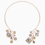 Peter Pilotto Arbol Choker, Multi-colored, Rose-gold tone plated - Swarovski, 5455626
