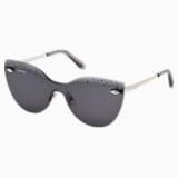 Moselle Mask Sunglasses, SK160-P 16A, Grey - Swarovski, 5456282