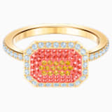 Anillo No Regrets, multicolor, Baño en tono Oro - Swarovski, 5457503