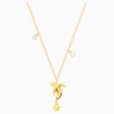 No Regrets Banana Pendant, Multi-coloured, Gold-tone plated - Swarovski, 5457504