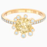 Olive Ring, Multi-coloured, Gold-tone plated - Swarovski, 5460983