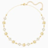 Olive Necklace, Multi-colored, Gold-tone plated - Swarovski, 5460987