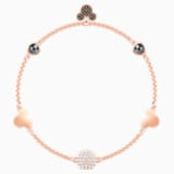 Swarovski Remix Collection Mickey Strand, Multi-colored, Rose-gold tone plated - Swarovski, 5462360