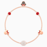 Swarovski Remix Collection Minnie Strand, Multi-colored, Rose-gold tone plated - Swarovski, 5462365