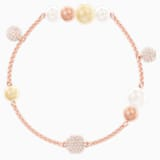 Swarovski Remix Collection Pearl Strand, multicolor, Baño en tono Oro Rosa - Swarovski, 5464297