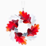 Wreath Ornament, Leaves - Swarovski, 5464866