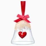 Ozdoba Vánoční zvonek se srdíčkem - Swarovski, 5464881