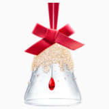 Décoration Cloche de Noël, Golden Shadow, petit modèle - Swarovski, 5464882