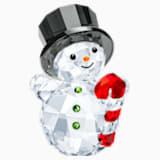 Sněhulák s cukrovou hůlkou - Swarovski, 5464886
