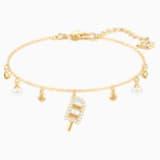 No Regrets Ice Cream Bracelet, Multi-colored, Gold-tone plated - Swarovski, 5465411