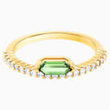 Oz Ring, White, Gold-tone plated - Swarovski, 5467544