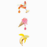 No Regrets Brooch Set, Multi-coloured, Gold-tone plated - Swarovski, 5468254
