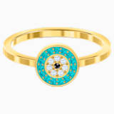 Luckily Ring, Multi-coloured, Gold-tone plated - Swarovski, 5468915