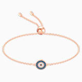 Luckily Bracelet, Multi-coloured, Rose-gold tone plated - Swarovski, 5468924