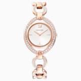 Reloj Stella, Brazalete de metal, blanco, PVD en tono Oro Rosa - Swarovski, 5470415