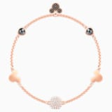 Swarovski Remix Collection Mickey Strand, Multi-colored, Rose-gold tone plated - Swarovski, 5470622