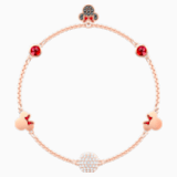 Swarovski Remix Collection Minnie Strand, Multi-coloured, Rose-gold tone plated - Swarovski, 5470625