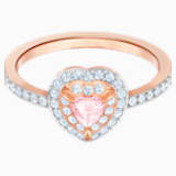 One Ring, Multi-coloured, Rose-gold tone plated - Swarovski, 5470692