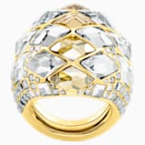 Notorious Cocktail Ring, Multi-coloured, Gold-tone plated - Swarovski, 5473761