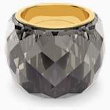 Prsten Nirvana Swarovski, šedý, pozlacený PVD - Swarovski, 5474358