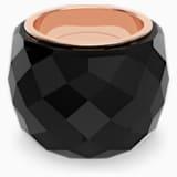 Swarovski Nirvana Ring, Black, Rose-gold tone PVD - Swarovski, 5474366