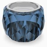 Δαχτυλίδι Swarovski Nirvana, μπλε, ανοξείδωτο ατσάλι - Swarovski, 5474372