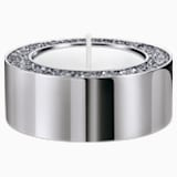 Minera Tea Light Holder, Small, Silver tone - Swarovski, 5474386