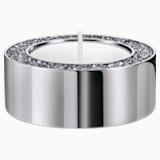 Minera Tea Light Holder, Small, Silver tone - Swarovski, 5474386