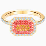 Bague No Regrets, multicolore, métal doré - Swarovski, 5474415