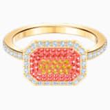 No Regrets Ring, Multi-colored, Gold-tone plated - Swarovski, 5474415